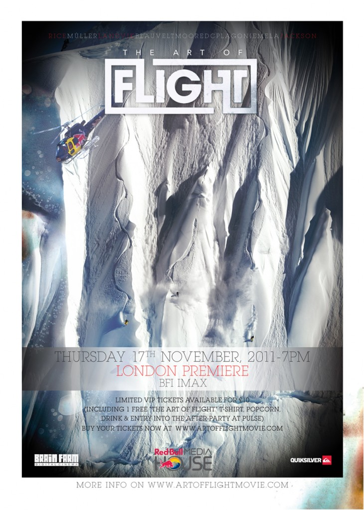 Art of Flight London Premiere