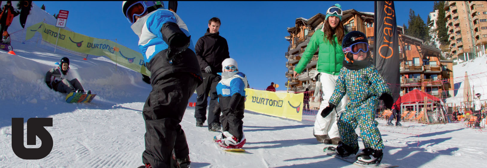kids snowboard lessons france age