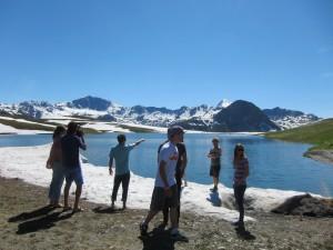 Lac de l'Ouillette solaise val d'isere