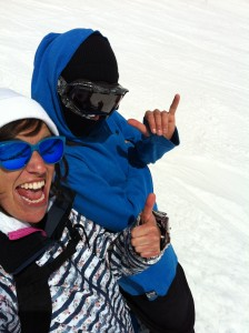 Tammy snowboard