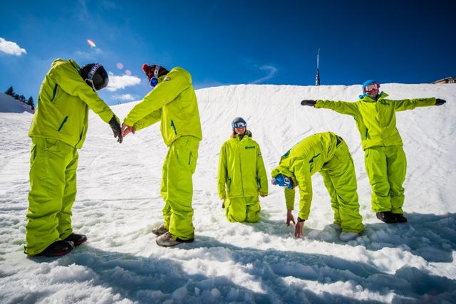Mint Snowboarding: snowboard camps, lessons, courses, freestyle, coaching, off piste
