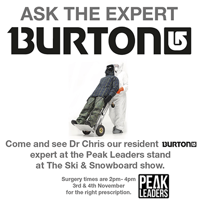 peak leaders burton instructor course