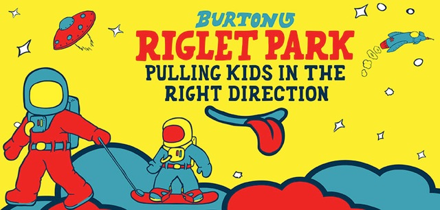 Burton, Riglet, snowboard, kids, children, lessons