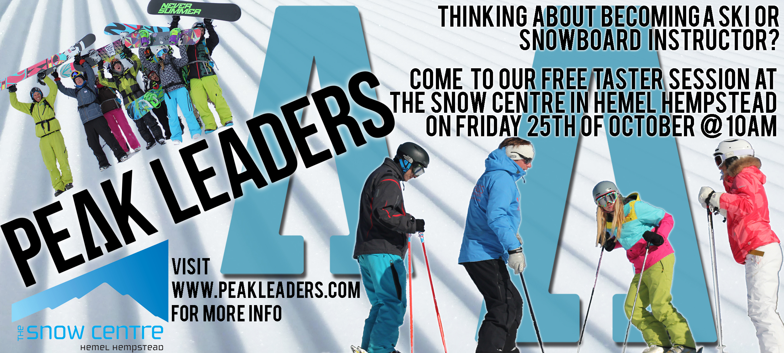 peak leaders snowboard instructor course morzine