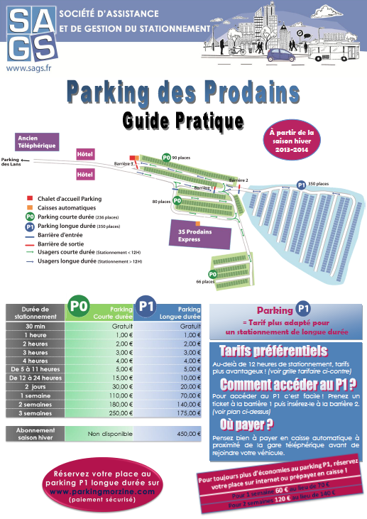 parking prodain avoriaz