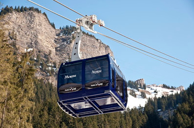 new Prodain cable car