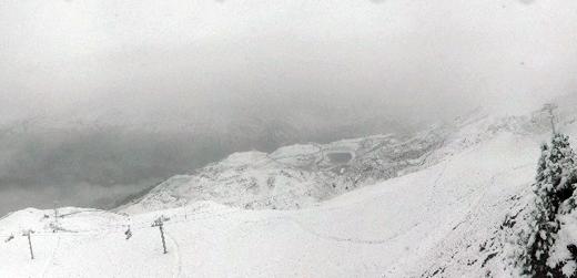 snow meribel summer 2014