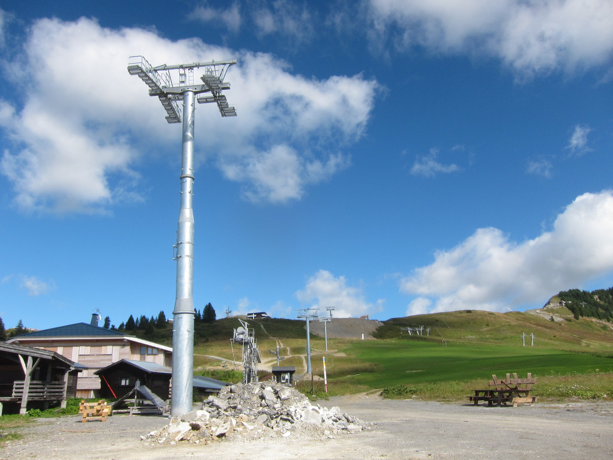 chapelle snowpark chairlift