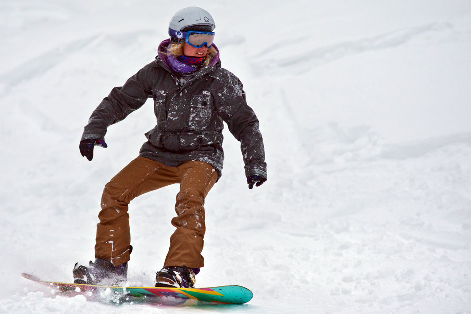 snowboard technical course