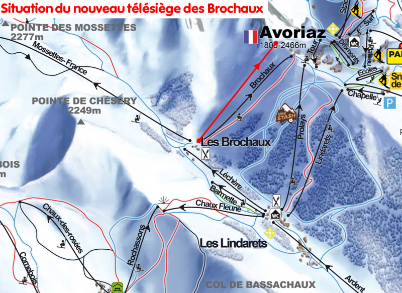 Brochaux chairlift