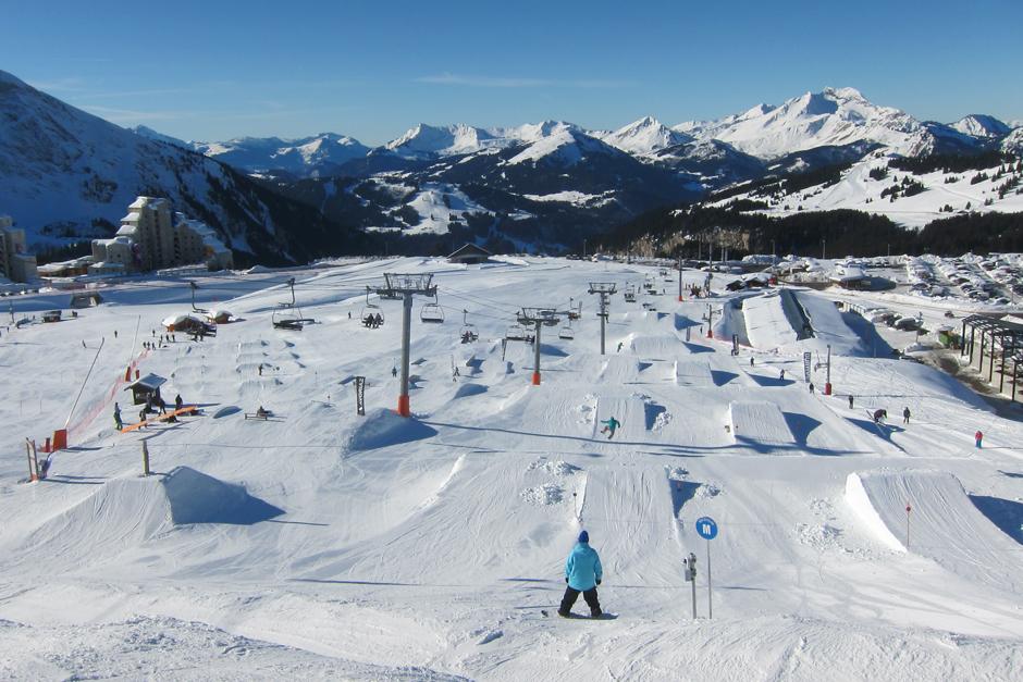 La Chapelle snowpark Avoriaz