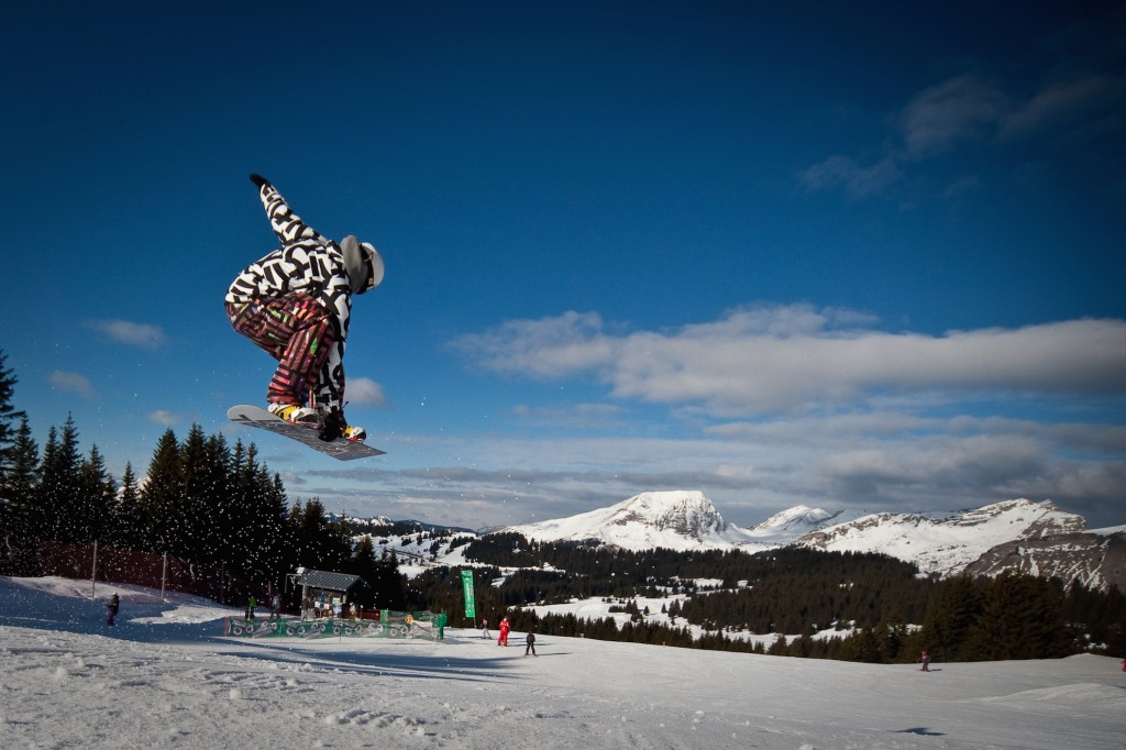 Freestyle coaching Avoriaz
