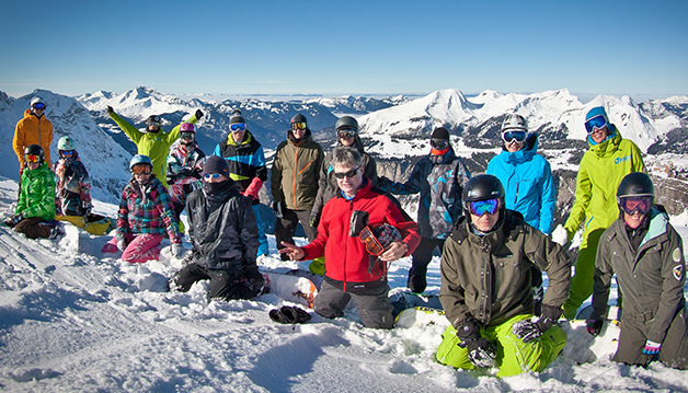 snowboard camp in france