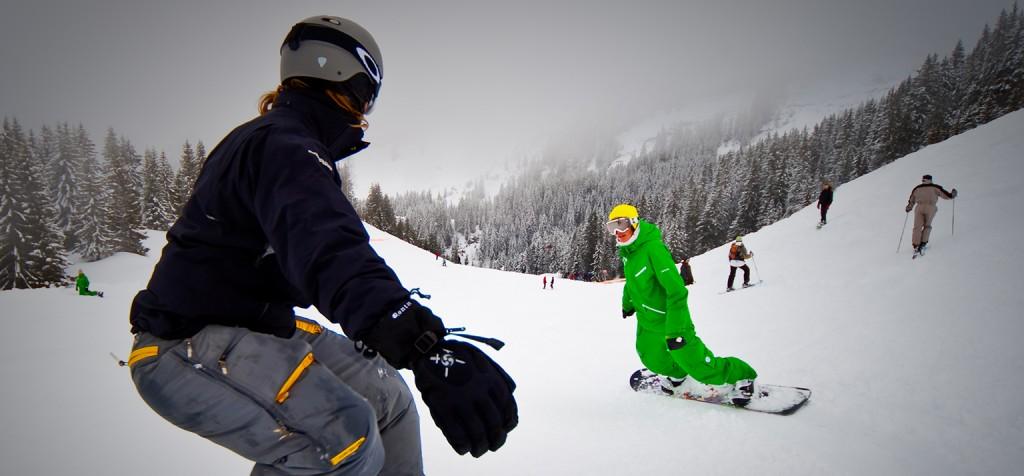 should i take snowboard lessons