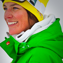 tammy esten british instructor in morzine avoriaz