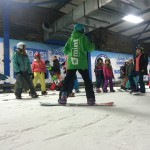 female freestyle course snowdome uk