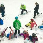 snowboard lessons snowdome tamworth