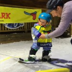lesley mckenna baby snowboarder