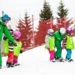 kids snowboard lessons avoriaz