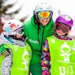 kids snowboard lessons les gets
