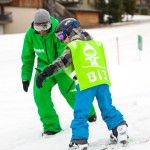 kids snowboard lessons morzine