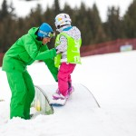 kids snowboard lessons chatel