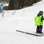 children snowboarding morzine