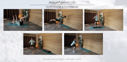 get fit for snowboarding skiing