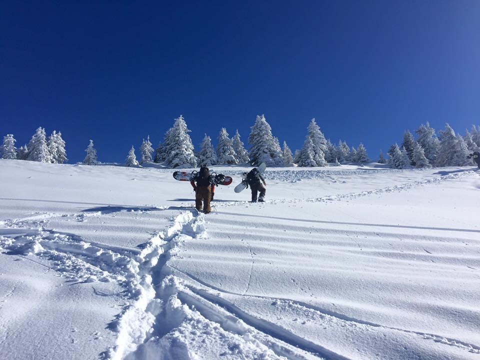 snowboard guiding