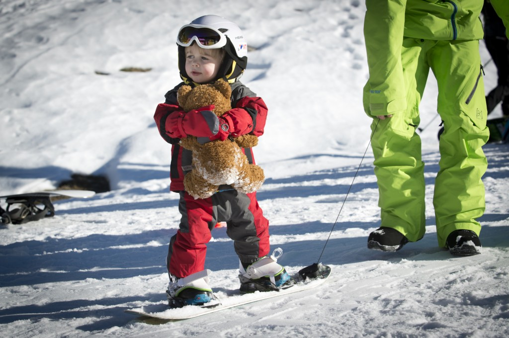 snowboard lessons for toddlers