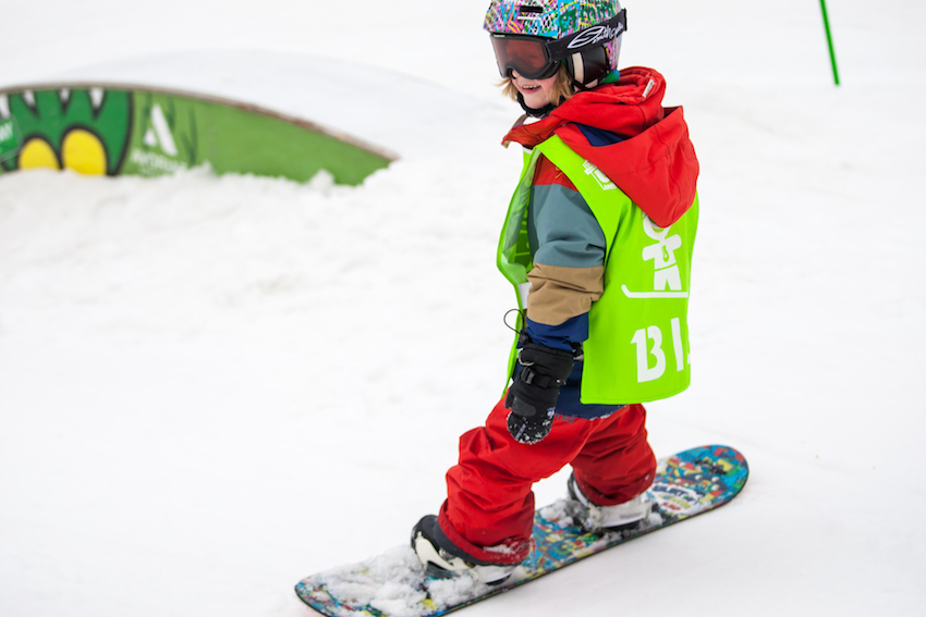children snowboard lessons morzine
