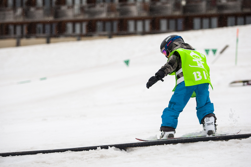 how old children learn to snowboard