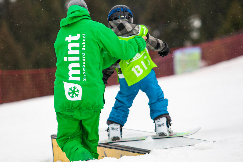kids snowboard club