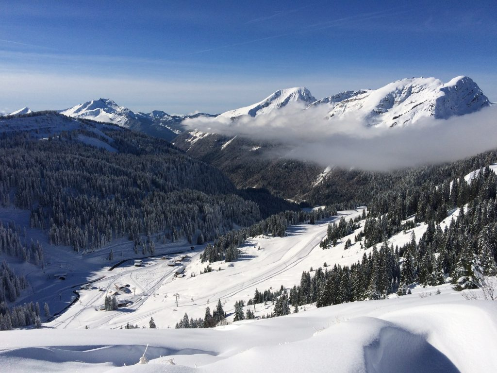 Views over the Portes du Soleil