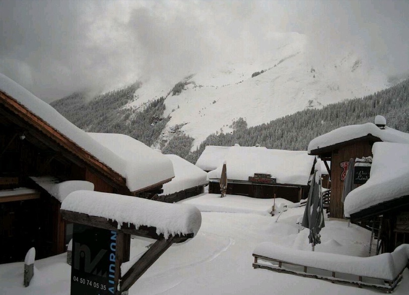 november snow, lindarets, avoriaz, portes du soleil