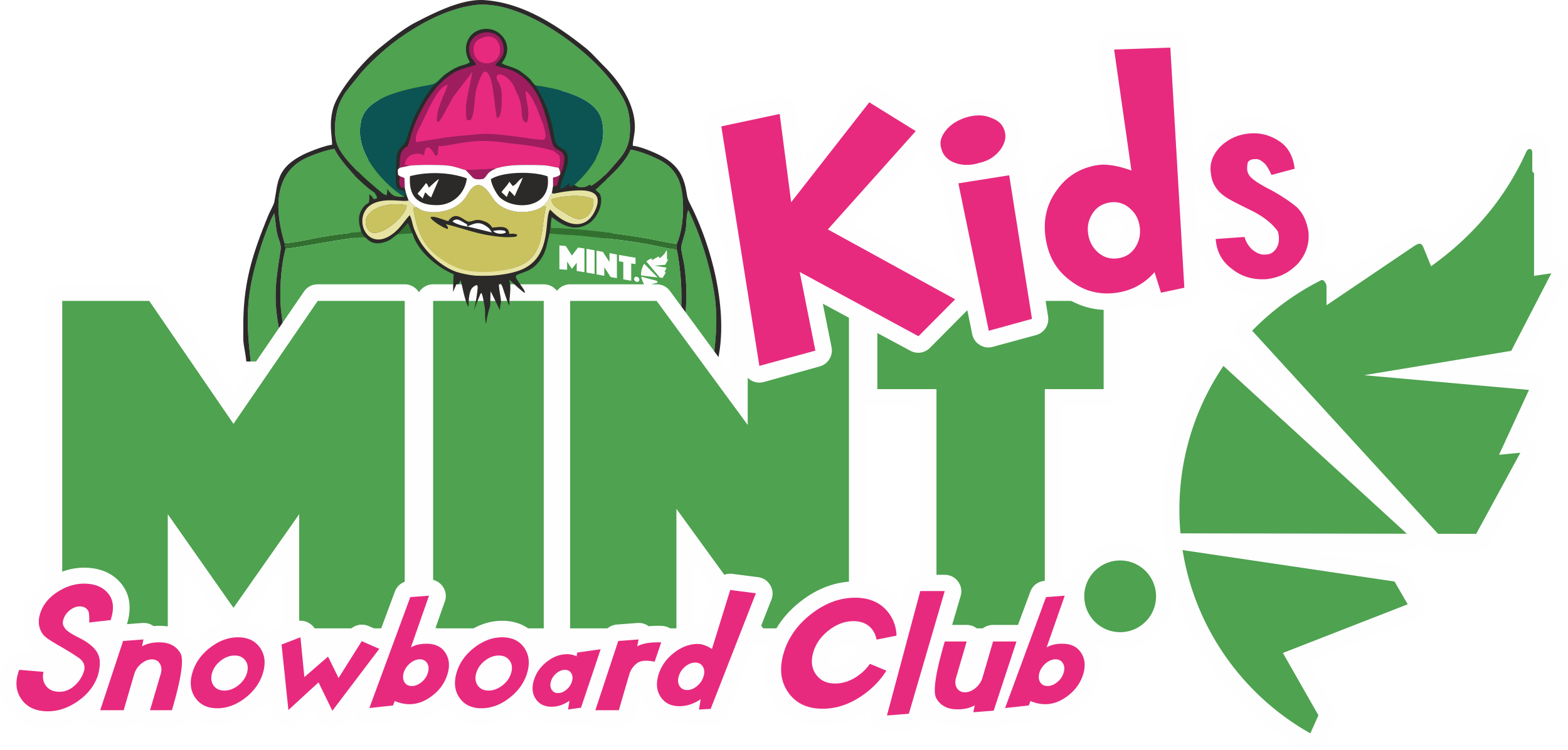 mint kids snowboard club morzine avoriaz