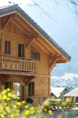luxury ski chalet morzine