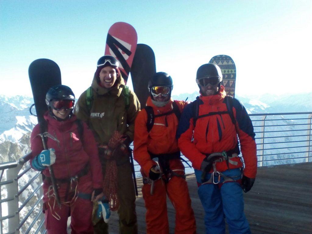 off piste, chamonix, guiding, ski, snowboard, courmayeur, italy