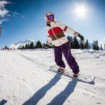 improver snowboard camp morzine