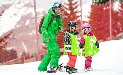family snowboard holidays