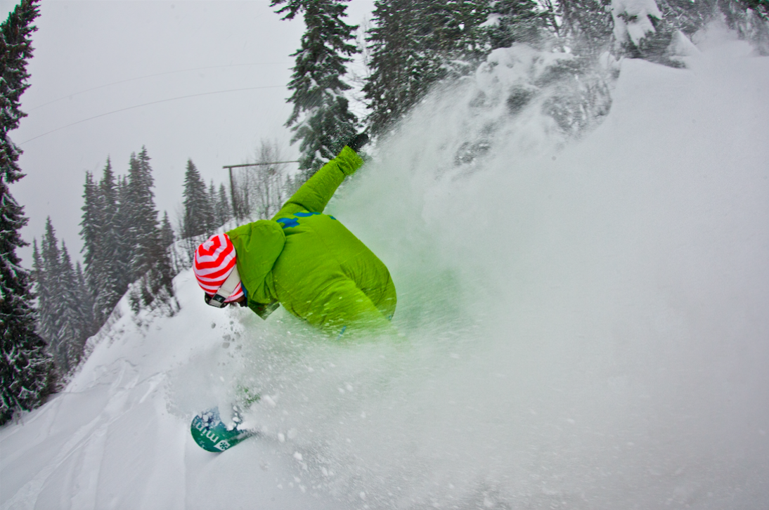 December snowboard camp