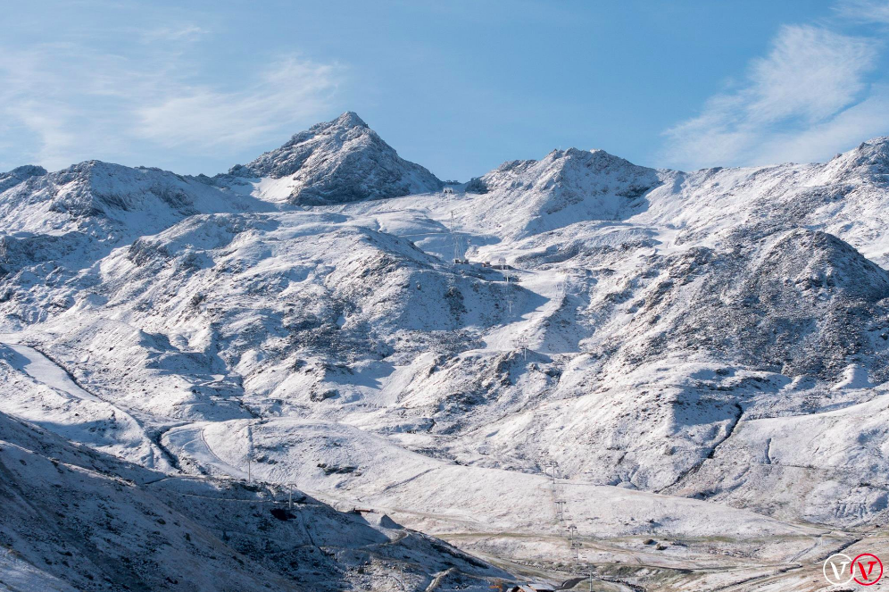 early snow in Val Thorens September 2017