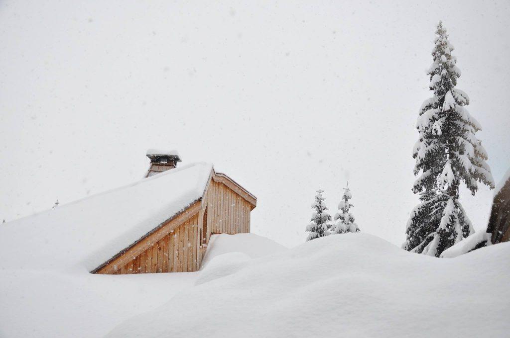 Avoriaz deep in snow, November 2016
