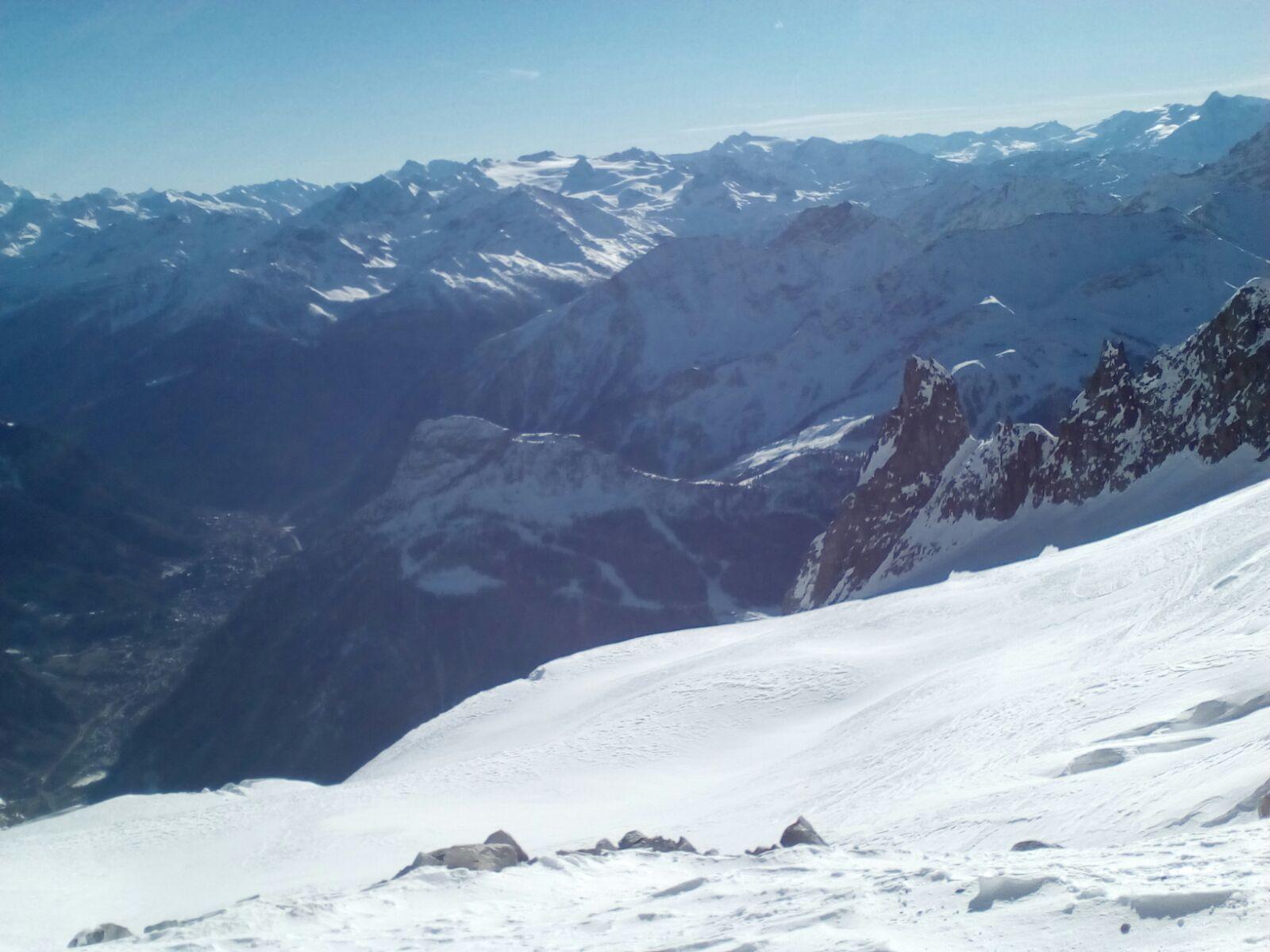 Glacier de Toule off piste route