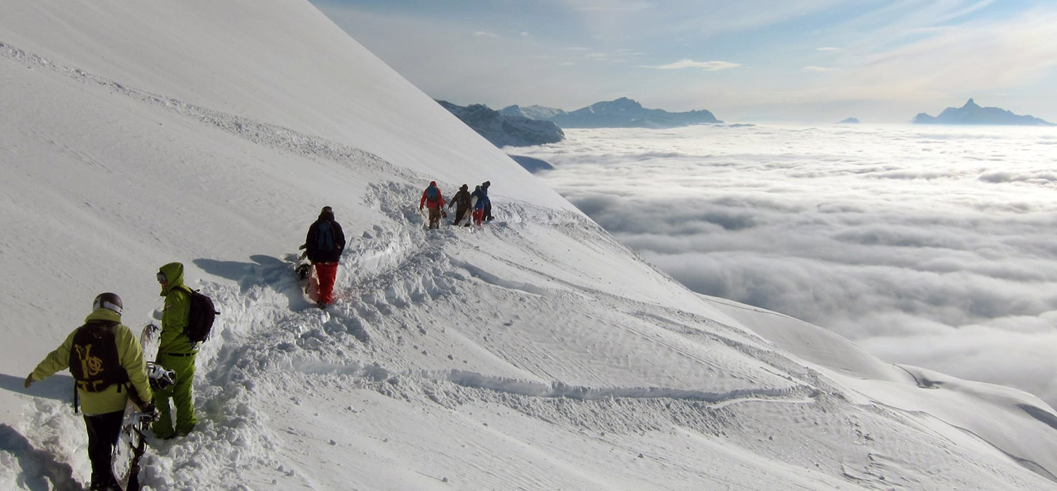 off piste guiding in morzine and avoriaz