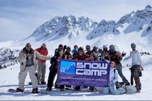 snow camp charity ski snowboard