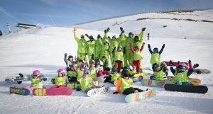 Kids Snowboard School
