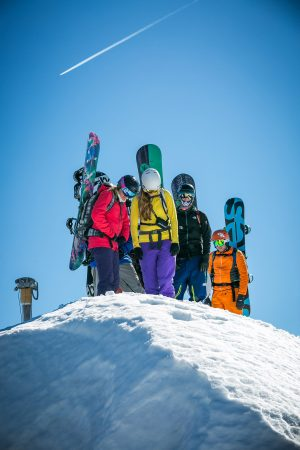 Off piste guiding in the Grand Massif
