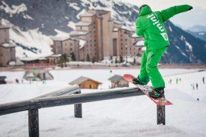 Morzine Freestyle Snowboarding