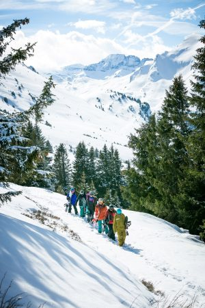Morzine off piste guiding